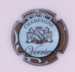 Plaque de Muselet - Champagne Verrier (N°301)