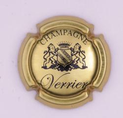 Plaque de Muselet - Champagne Verrier (N°303)