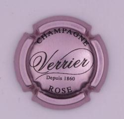Plaque de Muselet - Champagne Verrier (N°306)