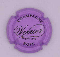 Plaque de Muselet - Champagne Verrier (N°307)