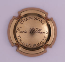 Plaque de Muselet - Champagne Bourmault Thierry (N°33)