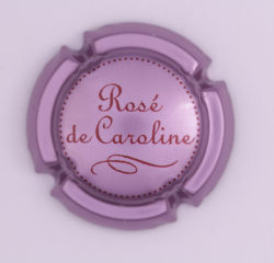 Plaque de Muselet - Champagne Bourmault Thierry (N°34)