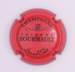 Plaque de Muselet - Champagne Bourmault Thierry (N°35)