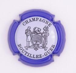 Plaque de Muselet - Champagne Boutillez Guer (N°37)