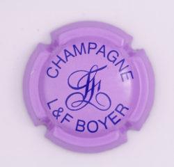 Plaque de Muselet - Champagne Boyer L & F (N°39)