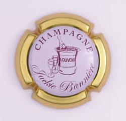 Plaque de Muselet - Champagne Bannière Jackie (N°4)