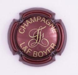 Plaque de Muselet - Champagne Boyer L & F (N°40)