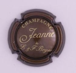 Plaque de Muselet - Champagne Boyer L & F (N°41)