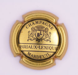Plaque de Muselet - Champagne Briaux Lenique (N°43)