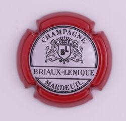 Plaque de Muselet - Champagne Briaux Lenique (N°44)