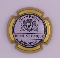Plaque de Muselet - Champagne Briaux Lenique (N°45)