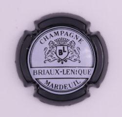 Plaque de Muselet - Champagne Briaux Lenique (N°46)