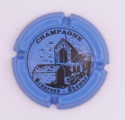 Plaque de Muselet - Champagne Bruneaux Thomas (N°47)