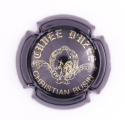 Plaque de Muselet - Champagne Busin Christian (N°49)