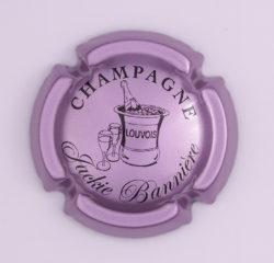 Plaque de Muselet - Champagne Bannière Jackie (N°5)
