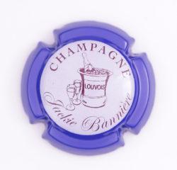 Plaque de Muselet - Champagne Bannière Jackie (N°6)