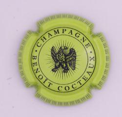 Plaque de Muselet - Champagne Cocteaux Benoit (N°60)