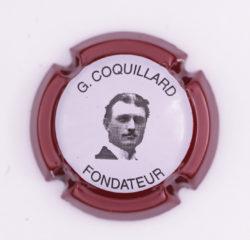 Plaque de Muselet - Champagne Coquillard .G (N°61)