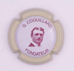 Plaque de Muselet - Champagne Coquillard .G (N°62)