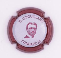 Plaque de Muselet - Champagne Coquillard .G (N°63)