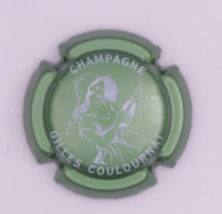 Plaque de Muselet - Champagne Coulournat Gilles (N°66)