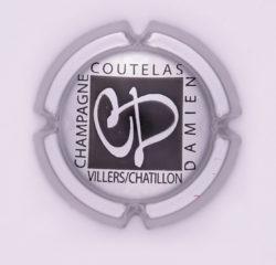 Plaque de Muselet - Champagne Coutelas Damien (N°67)