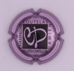 Plaque de Muselet - Champagne Coutelas Damien (N°68)