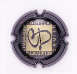 Plaque de Muselet - Champagne Coutelas Damien (N°69)