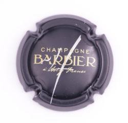Plaque de Muselet - Champagne Barbier (N°7)