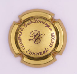 Plaque de Muselet - Champagne Crete Dominique (N°74)