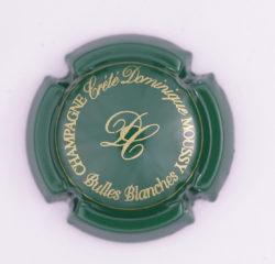 Plaque de Muselet - Champagne Crete Dominique (N°78)