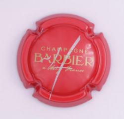 Plaque de Muselet - Champagne Barbier (N°8)