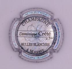 Plaque de Muselet - Champagne Crete Dominique (N°85)