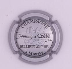 Plaque de Muselet - Champagne Crete Dominique (N°86)