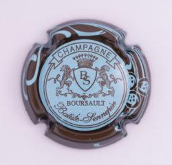 Plaque de Muselet - Champagne Batiste Sennepin (N°9)