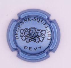 Plaque de Muselet - Champagne Degenne Squelart (N°91)