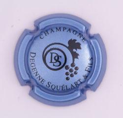 Plaque de Muselet - Champagne Degenne Squelart & Fils (N°92)