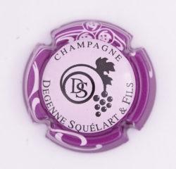 Plaque de Muselet - Champagne Degenne Squelart & Fils (N°93)