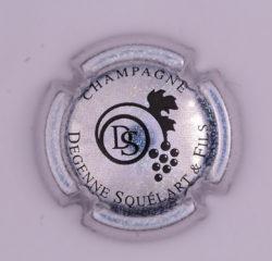 Plaque de Muselet - Champagne Degenne Squelart & Fils (N°94)