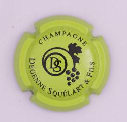 Plaque de Muselet - Champagne Degenne Squelart & Fils (N°95)