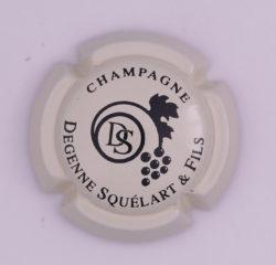 Plaque de Muselet - Champagne Degenne Squelart & Fils (N°96)