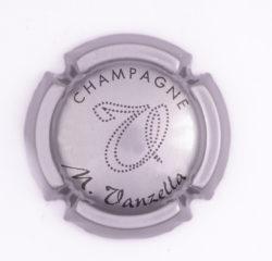 Plaque de Muselet - Champagne Vanzella .M (N°286)